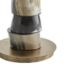 Arteriors home miller table lamp arteriors home miller table lamp horn disc natural lighting aloadofball Image collections