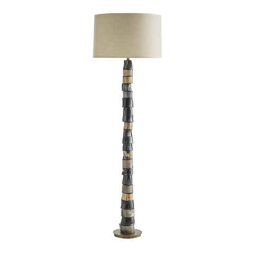 Arteriors Home Miller Table Lamp Horn Disc Natural Lighting