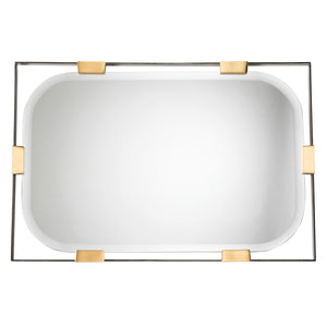 arteriors home frankie rectangular mirror DJ2049 mirrors, wall mirrors, long wall mirrors, modern bathroom mirrors, large wall mirrors, bedroom mirrors, unique mirrors, bathroom wall mirrors, horizontal