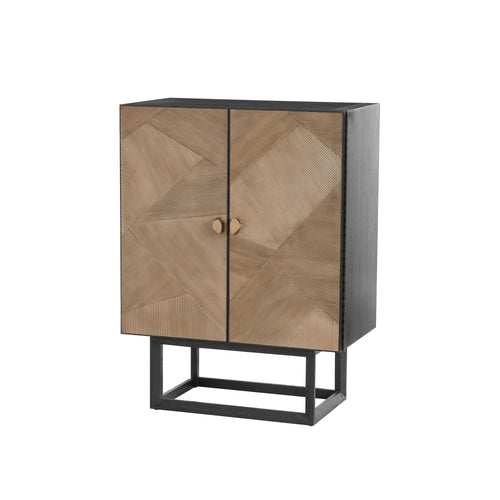 arteriors home gatsby cocktail cabinet storage DJ5010