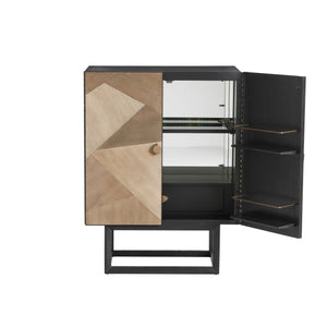 arteriors home gatsby cocktail cabinet storage DJ5010 open cabinet