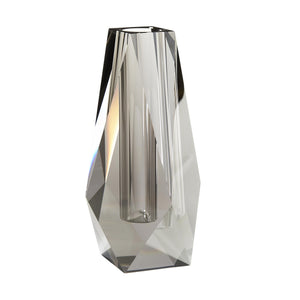 Gemma Tall Vase Smoke Gray