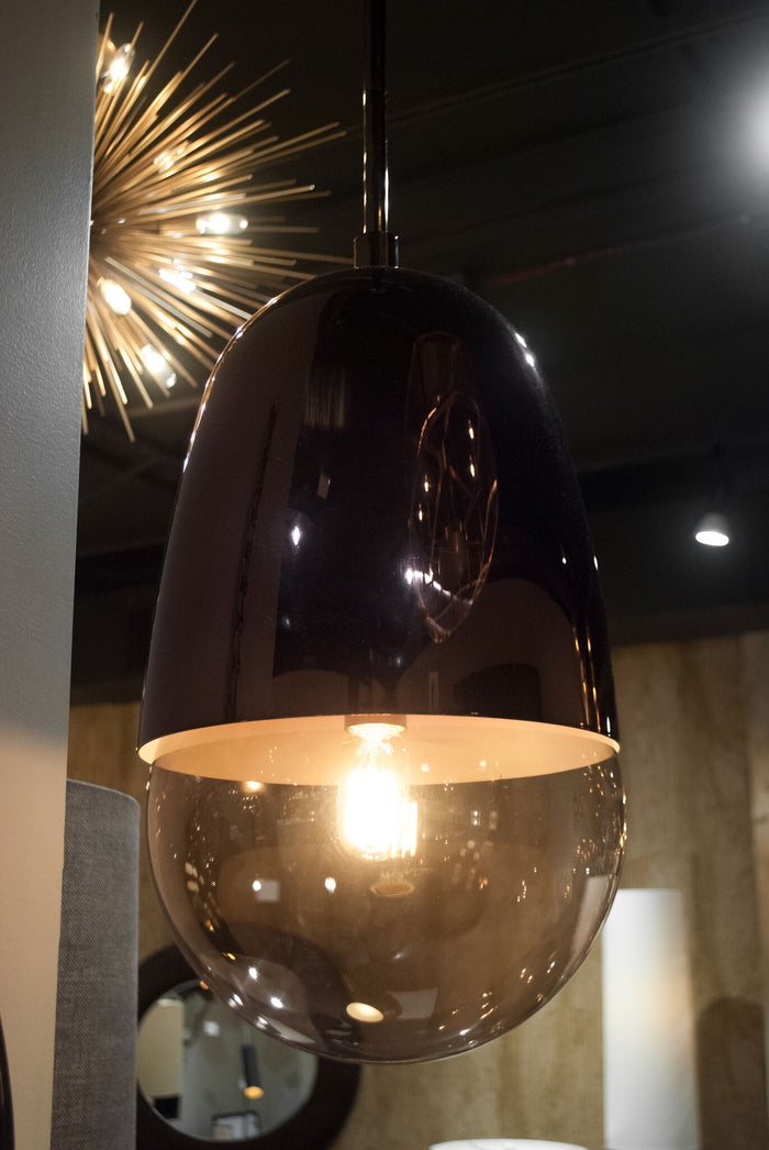 arteriors home germaine pendant bronze room view
