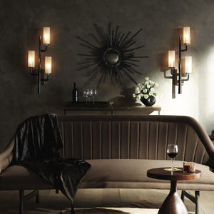 arteriors home griffin wall sconce room view