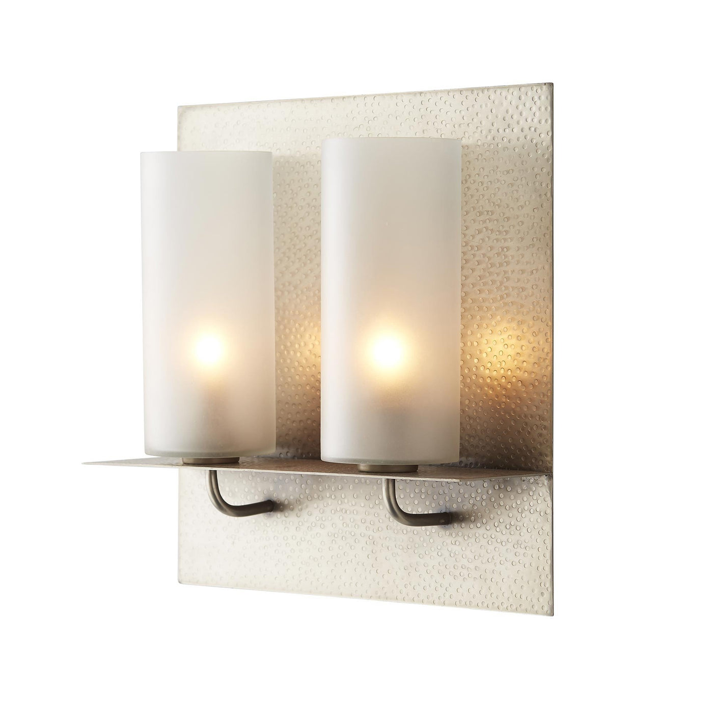Arteriors Home Kady Sconce Lighting Silver Wall Iron