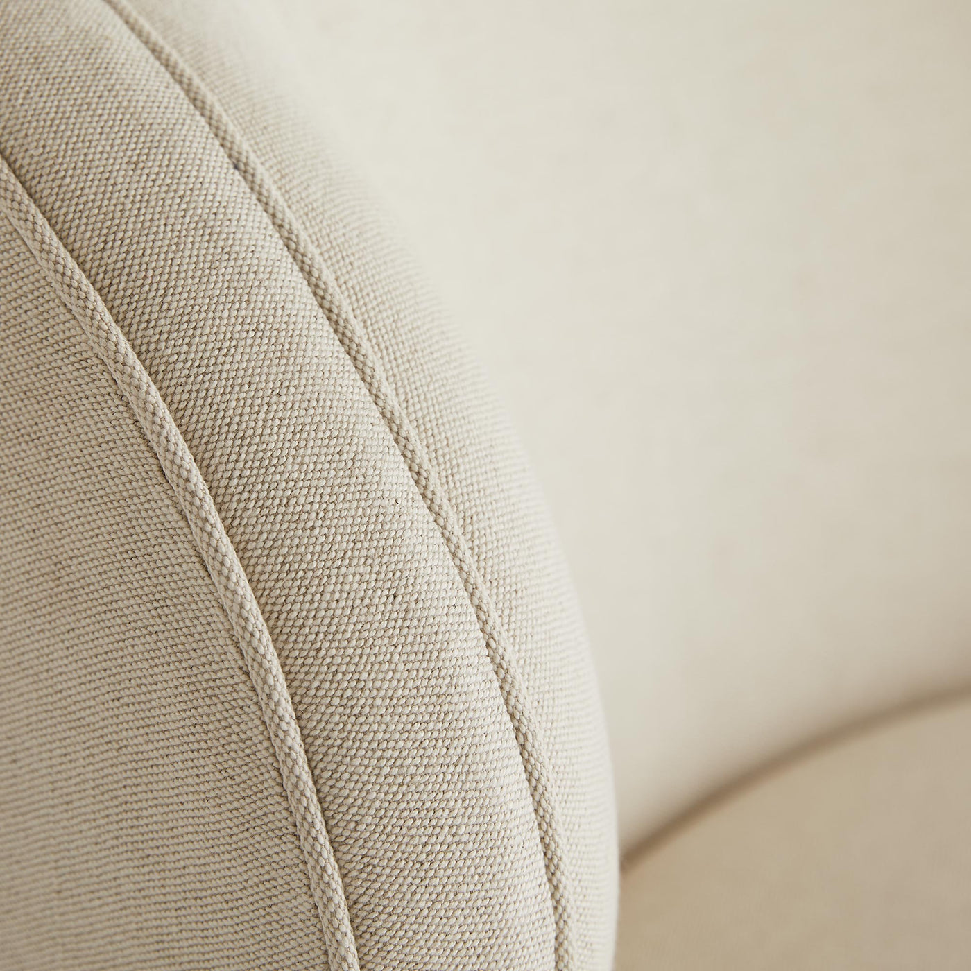 arteriors home kitts chair flax linen cushion
