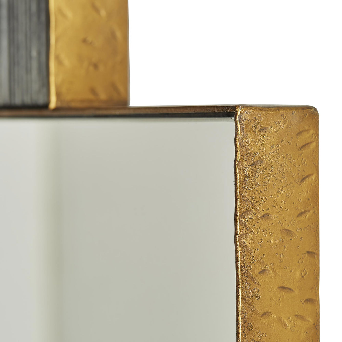 arteriors home lianna mirror side detail