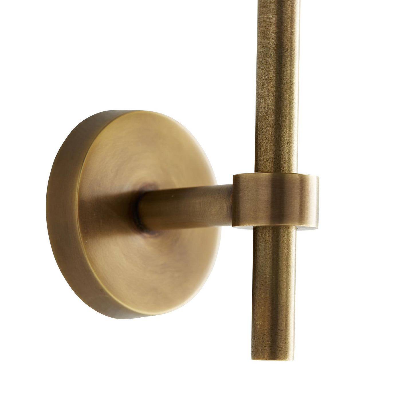arteriors home marshall mirror antique brass wall mount