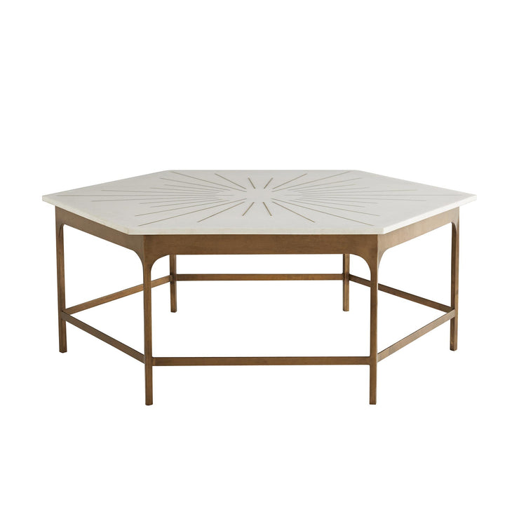 arteriors home mae cocktail table