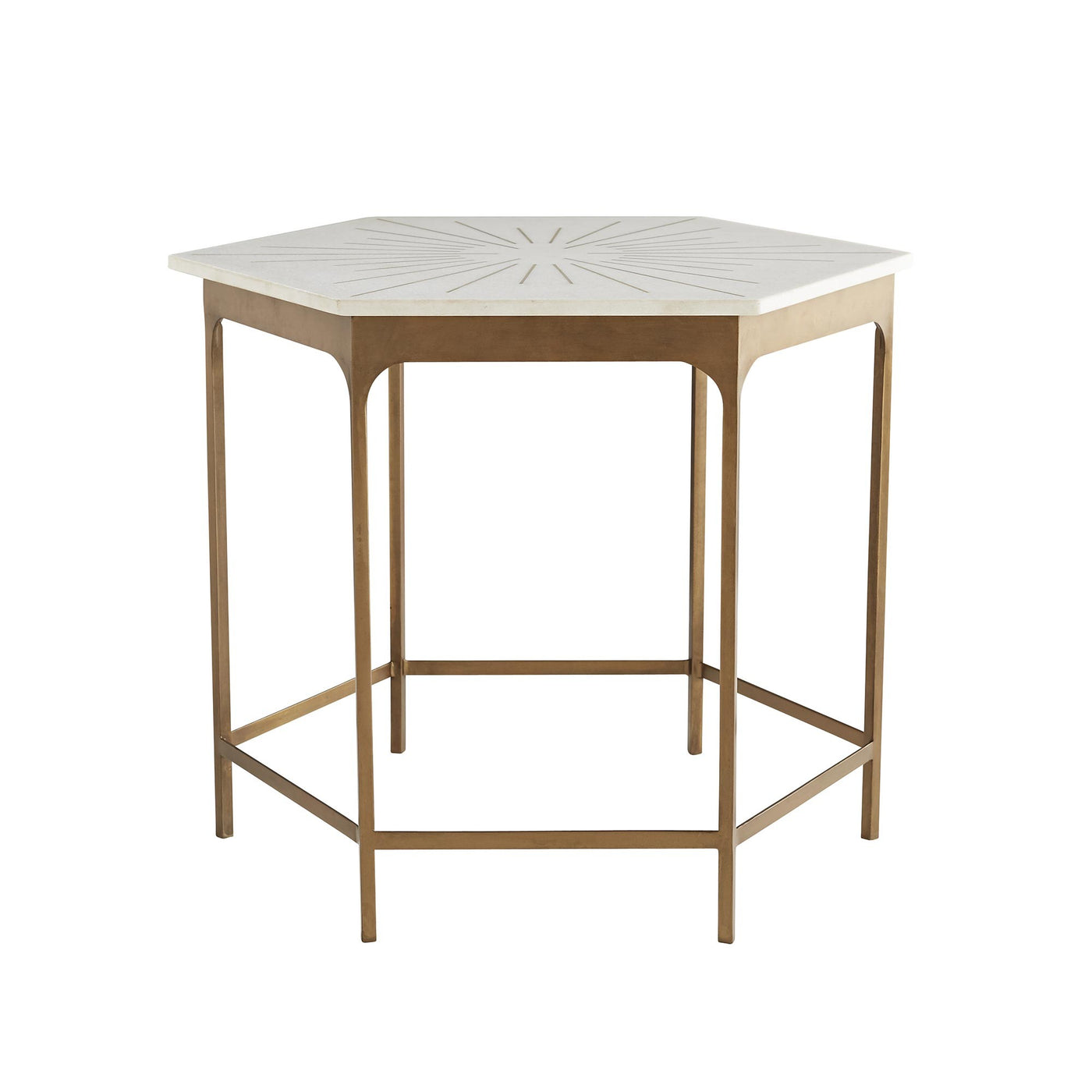 arteriors home mae end table