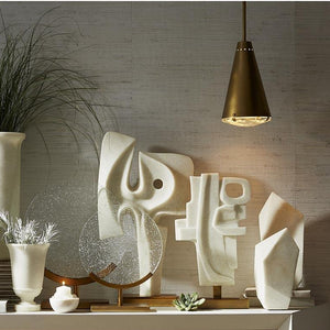 arteriors home maeve and martin sculpture styled