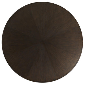 Arteriors Home Mahoun Dining Table Round Oak Umber Desk