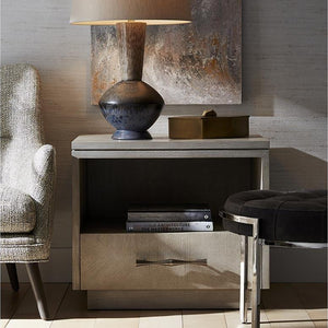 arteriors home mallory side table styled