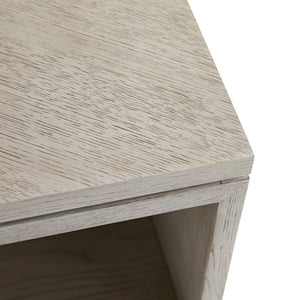 arteriors home mallory side table top corner