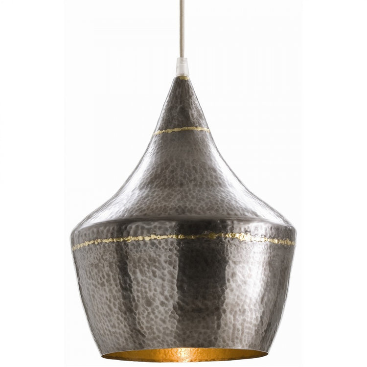 arteriors home mason hammered iron pendant modern lighting hanging
