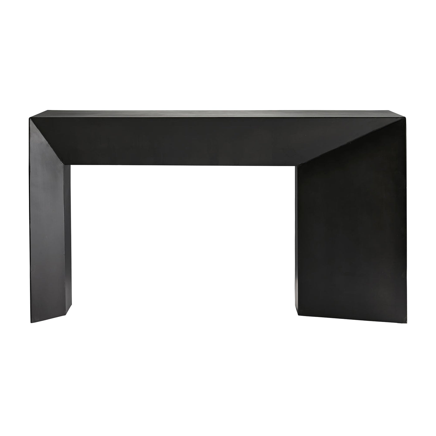 Arteriors Home Mckinley Console Iron Geometric Angle