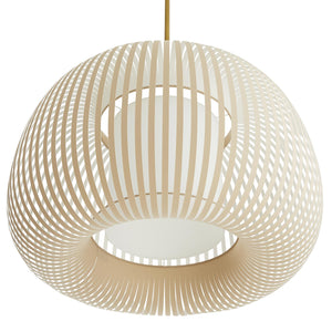 arteriors home mia pendant bottom