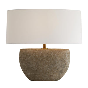 arteriors home odessa table lamp illuminated