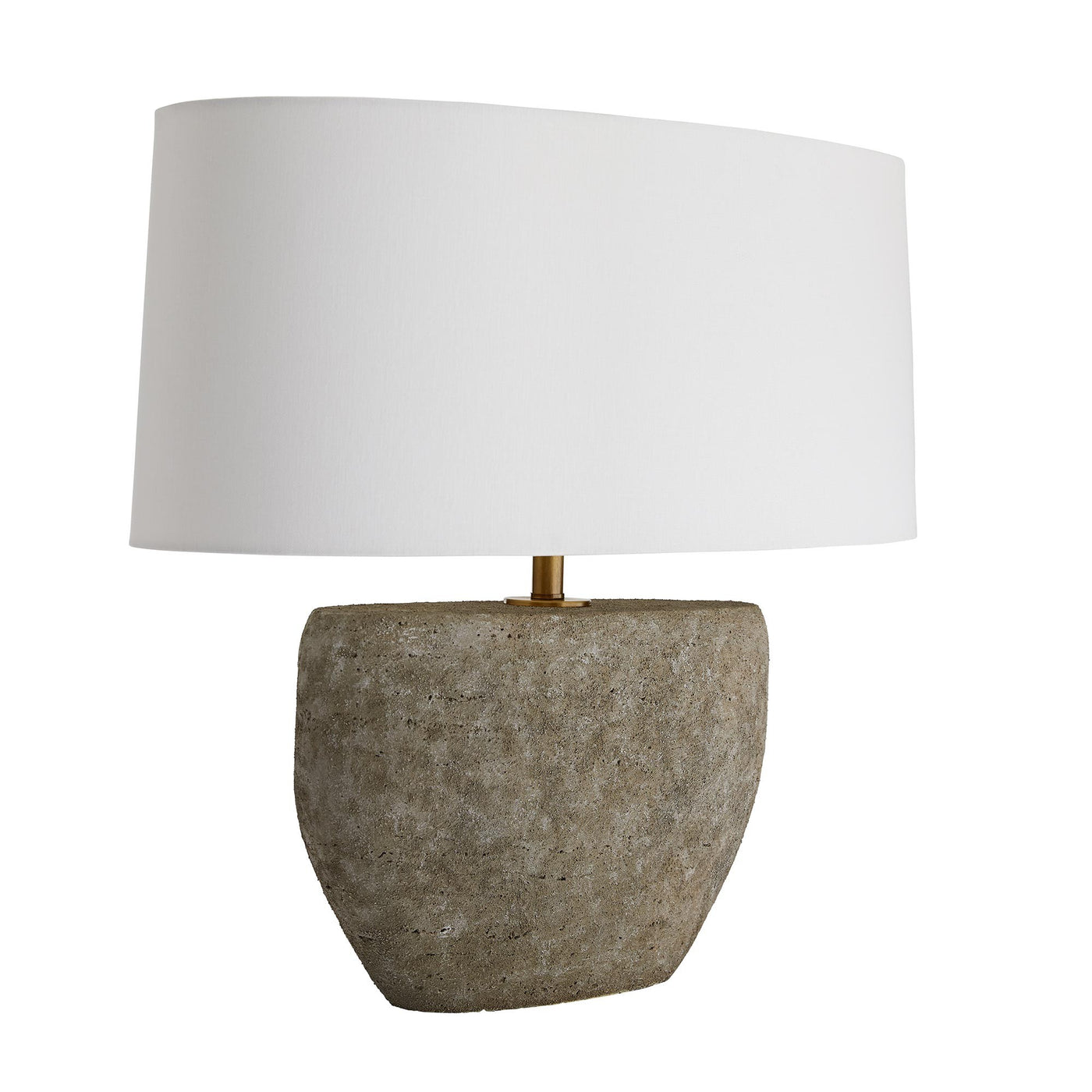 arteriors home odessa table lamp angle
