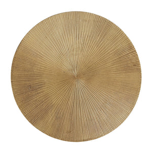 arteriors home otelia accent table vintage brass top