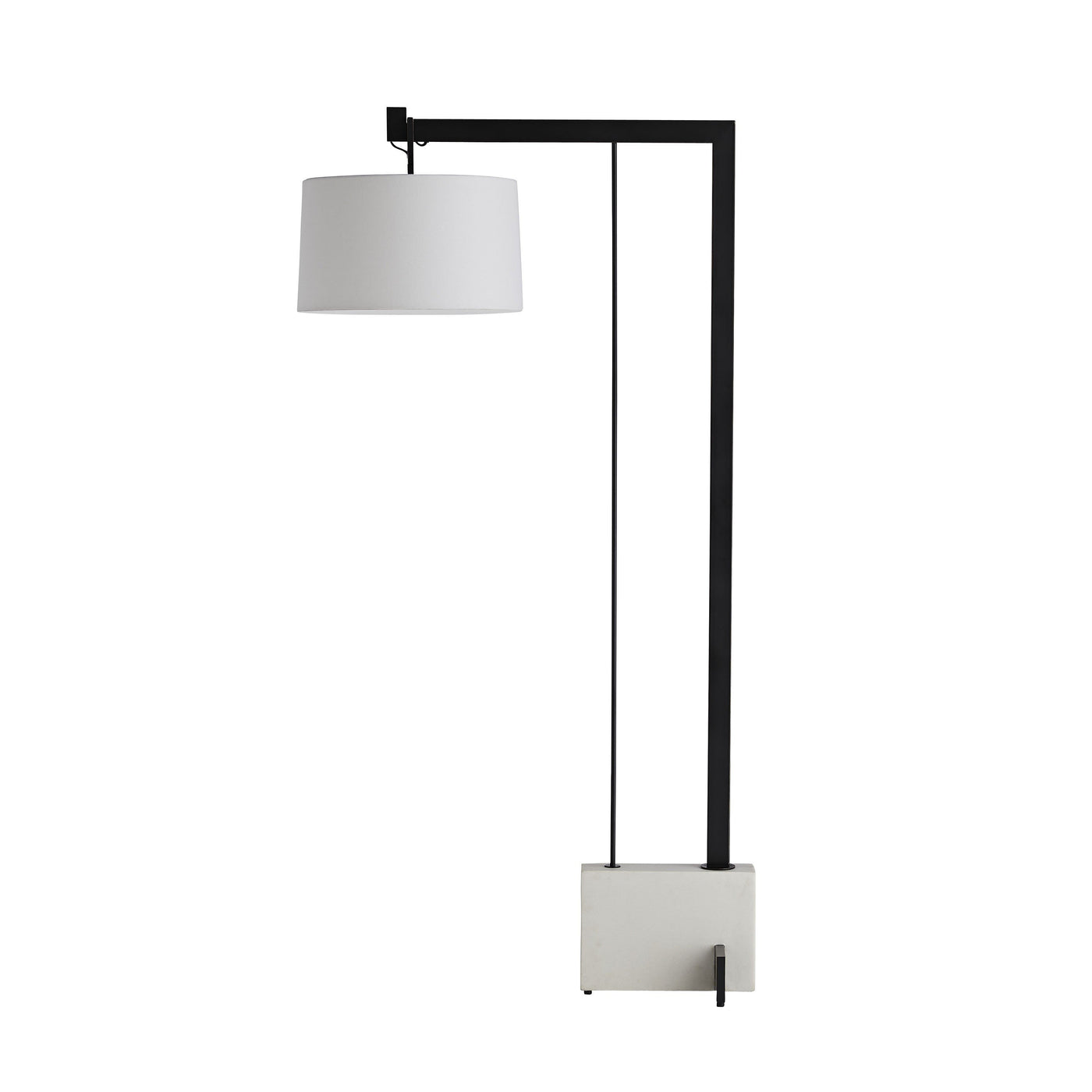 arteriors home piloti floor lamp