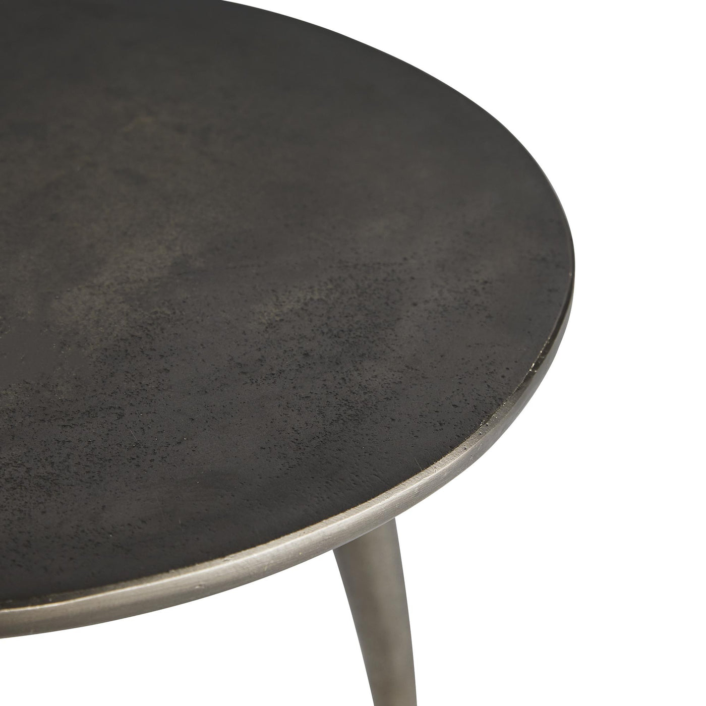 arteriors home rotterdam accent table top detail