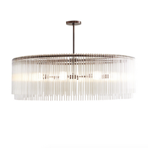 Arteriors Home Royalton Large Chandelier Brown Nickel Lighting