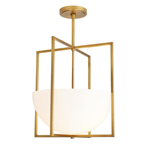 Royce Pendant Antique Brass