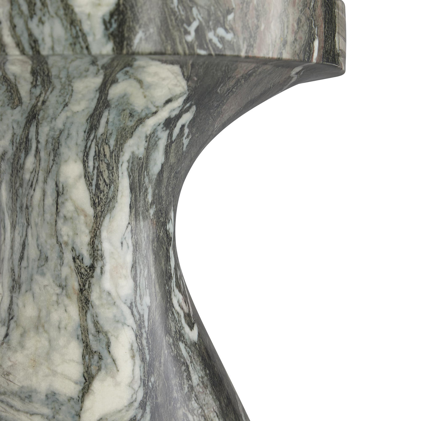 arteriors home small serafina accent table detail