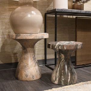 arteriors home serafina small accent table