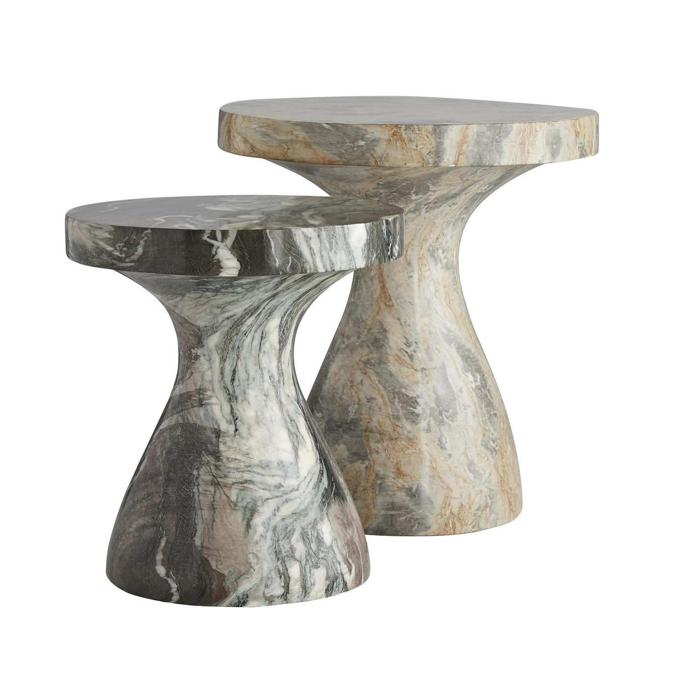 arteriors home serafina large accent table with small