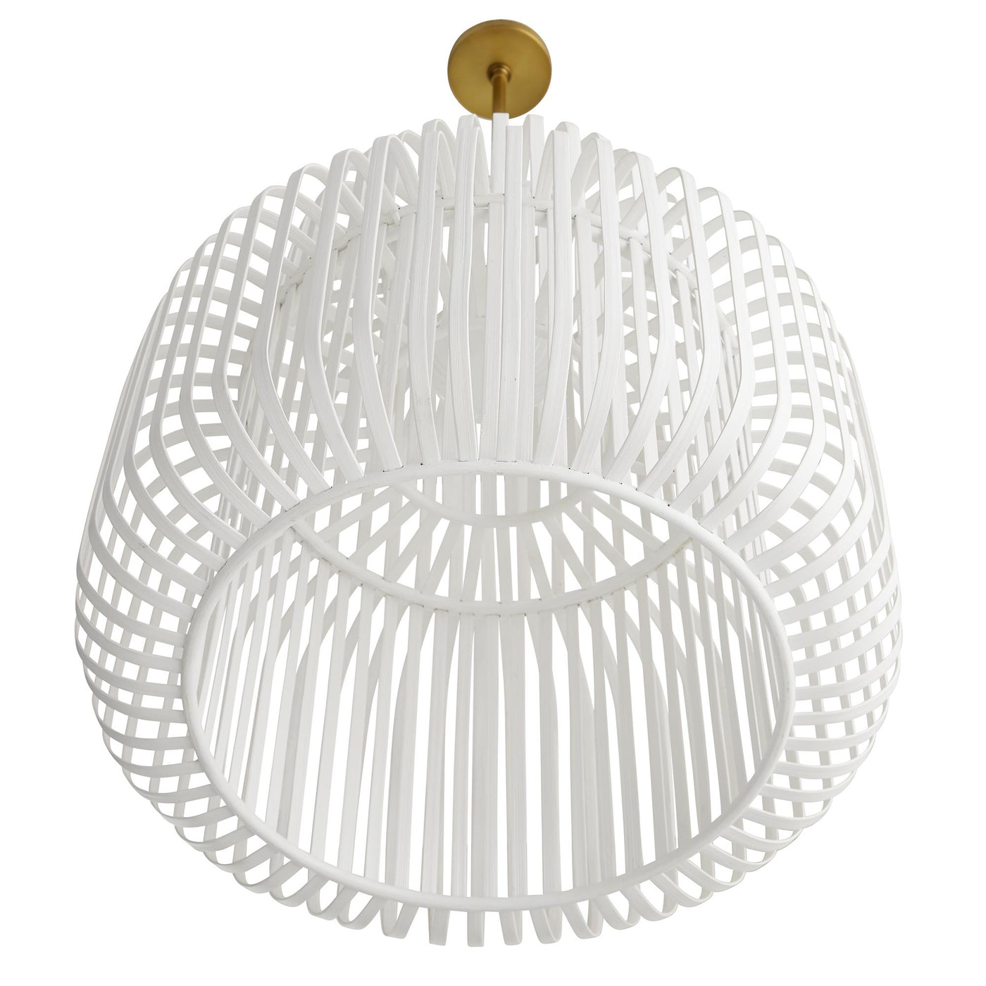 arteriors home shae pendant bottom