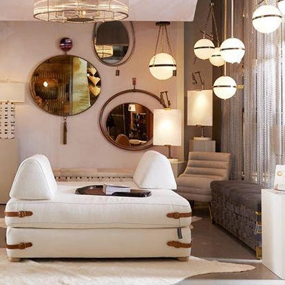 arteriors home eclipse mirror showroom