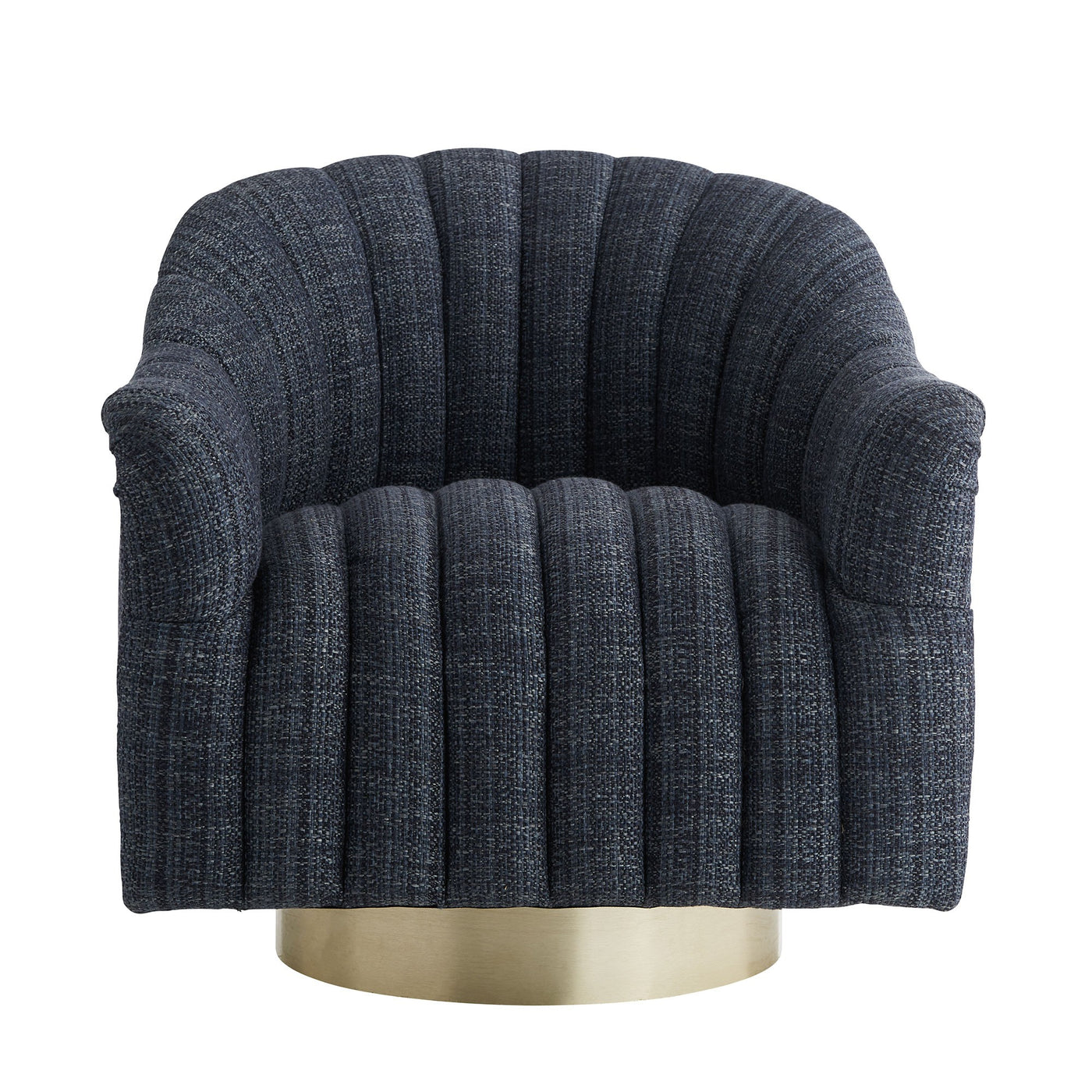 arteriors home springsteen chair indigo tweed