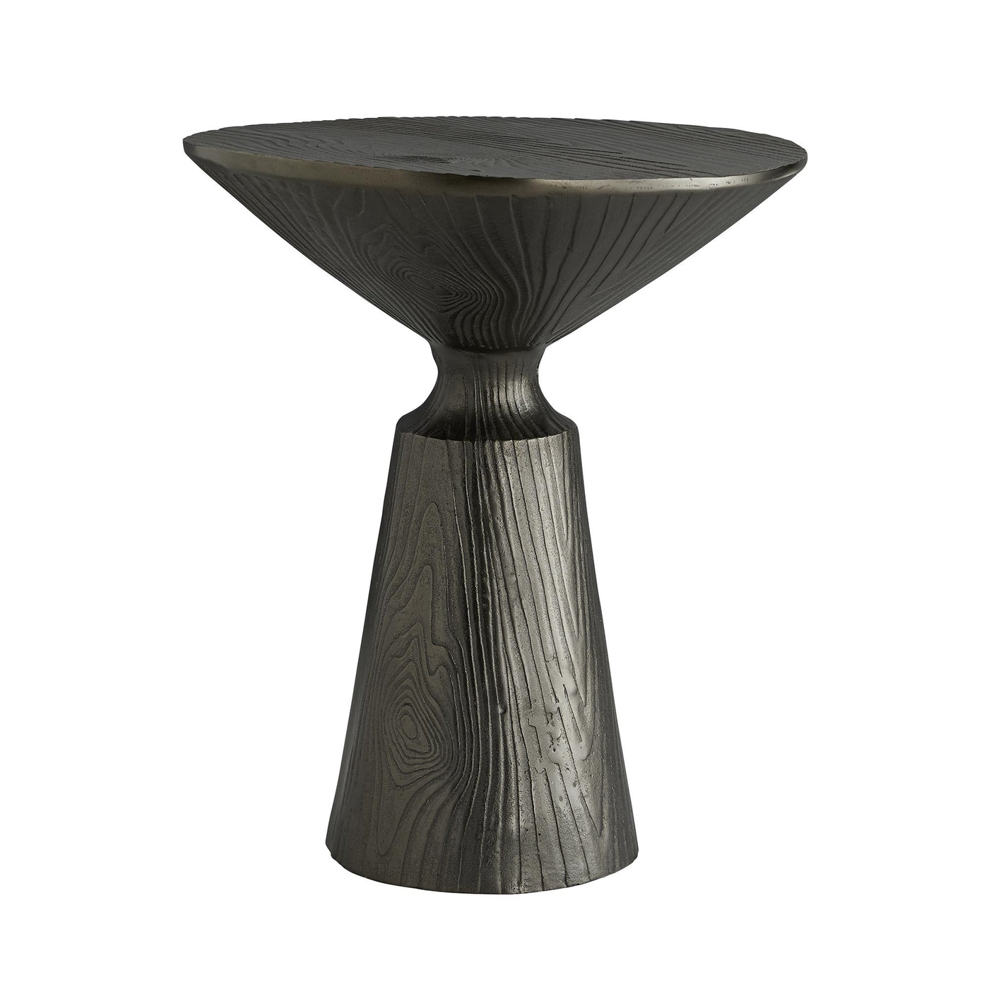 arteriors home sycamore side table