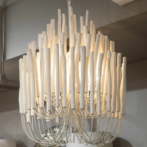 arteriors home tilda chandelier room view