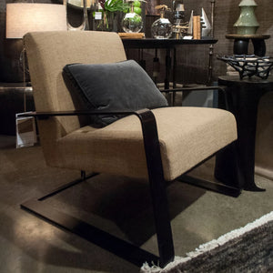 arteriors home torcello chair shown in room