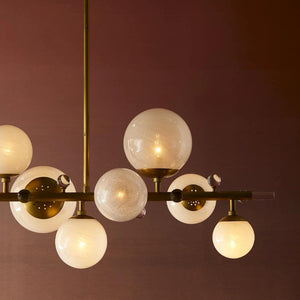 arteriors home troon chandelier antique brass lifestyle