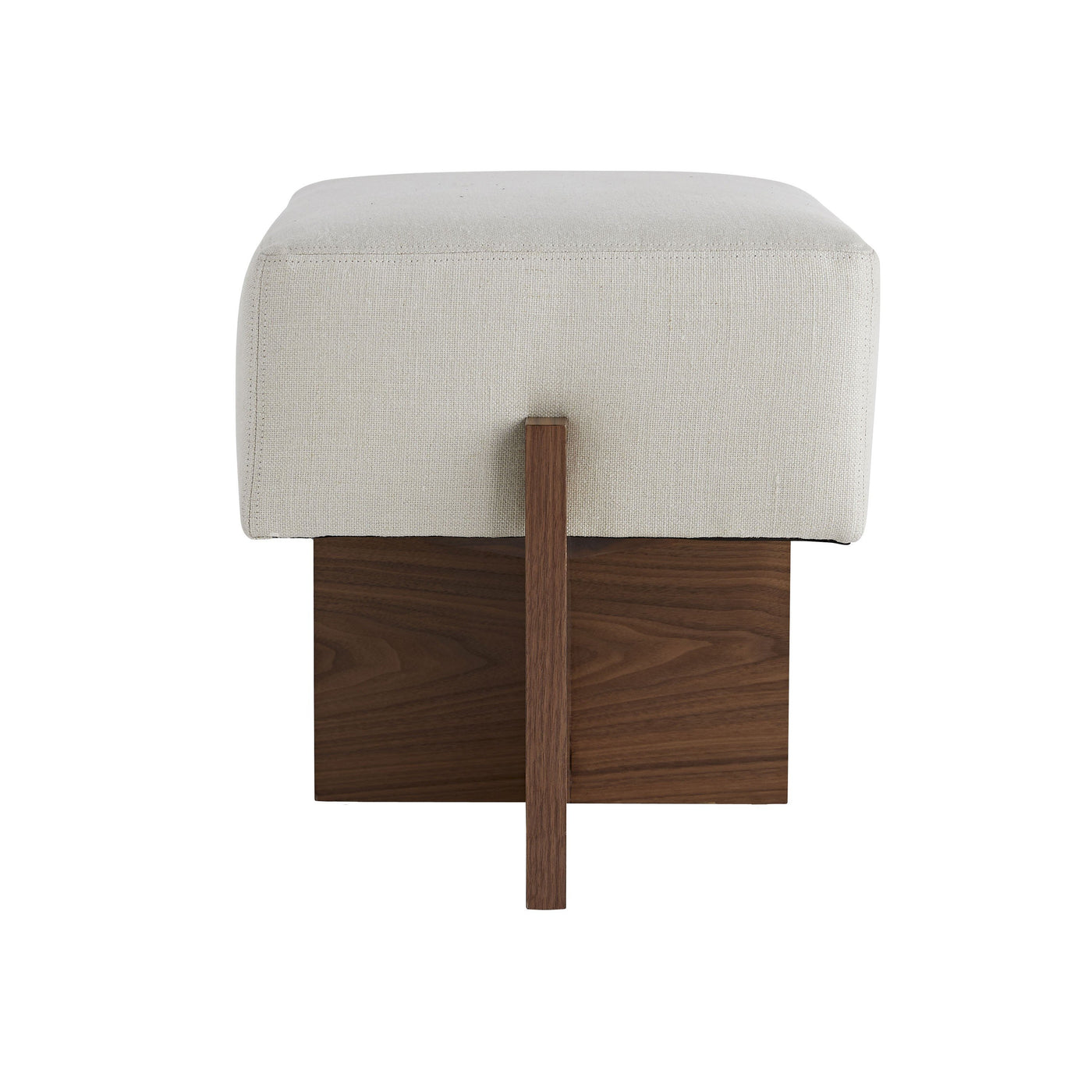 arteriors home tuck ottoman side view