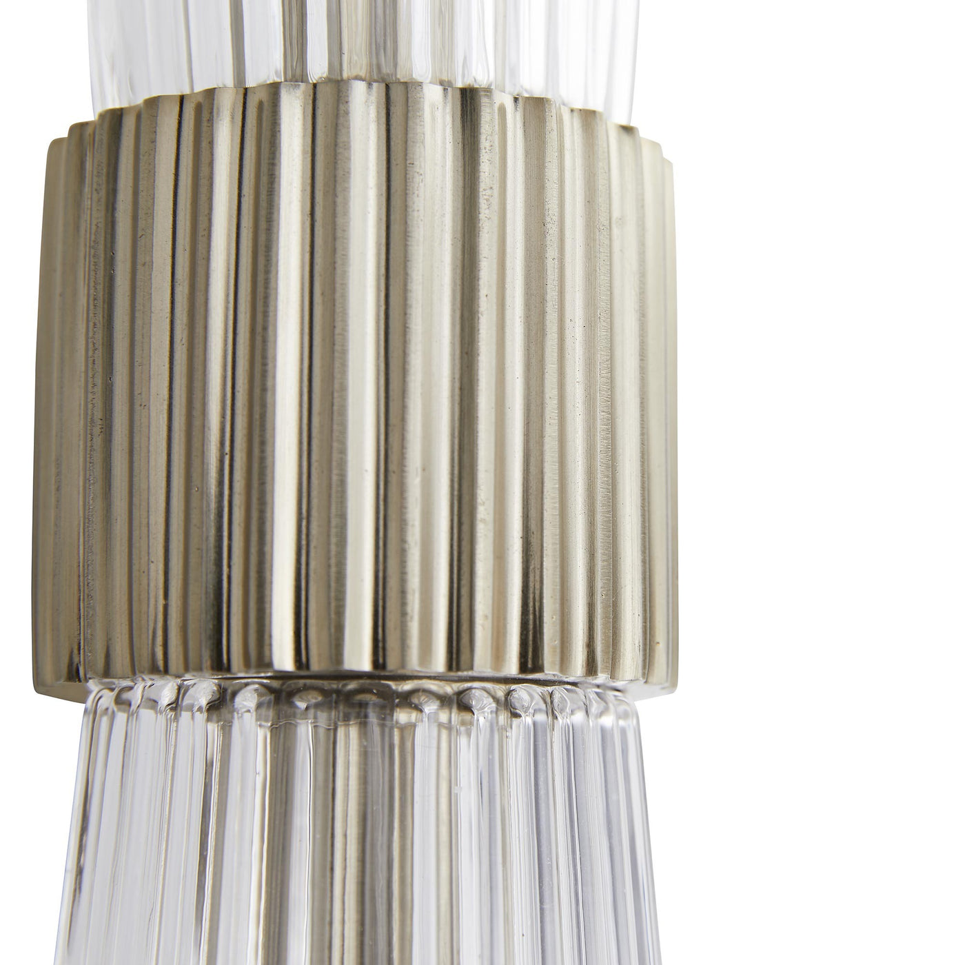 arteriors whittier sconce pale brass detail