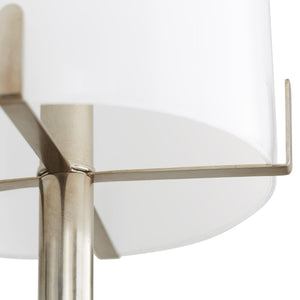 Arteriors Home Woodall Chandelier Brass Silver Lighting Steel