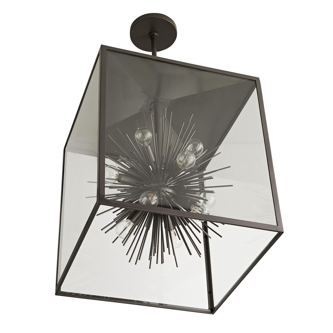arteriors home zanadoo outdoor pendant aged iron bottom