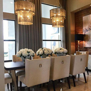 arteriors jalen chandelier dining room lighting