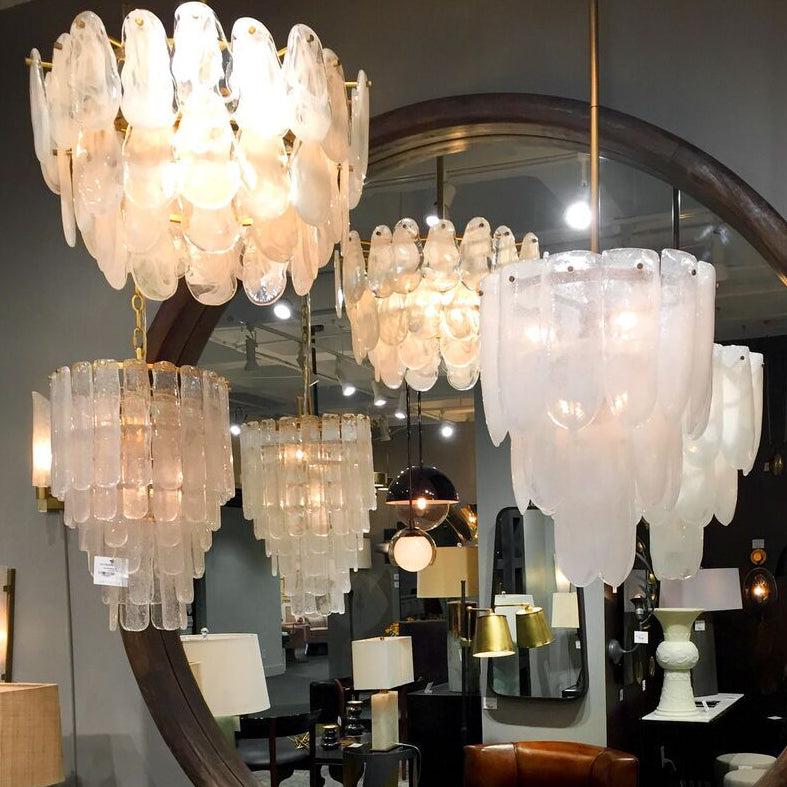 arteriors home larie chandelier glass pendant hanging