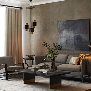 arteriors lawson coffee table living room