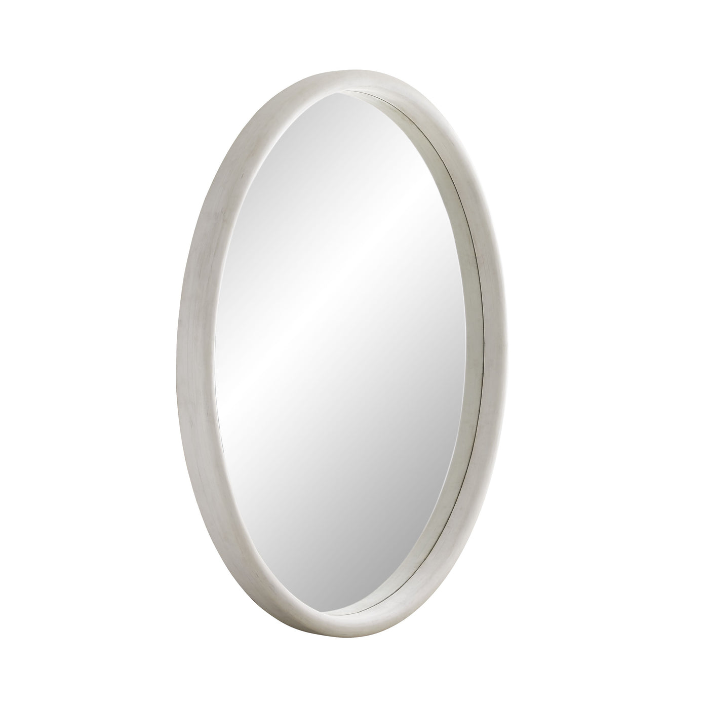 arteriors lesley mirror white wash side