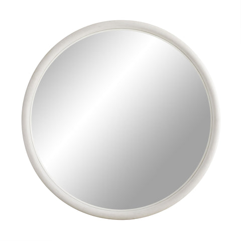 arteriors lesley mirror white wash