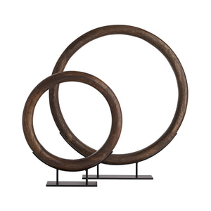 arteriors lesley small sculpture with large