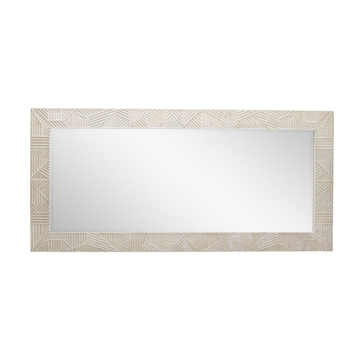 arteriors marsh floor mirror horizontal