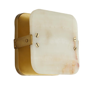 arteriors mercury sconce side view